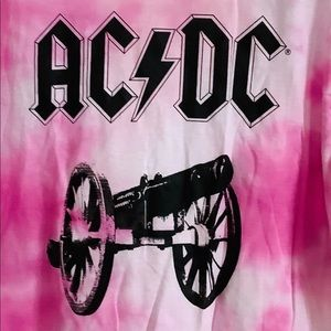 AC/DC For Those About to Rock Size Medium Pink